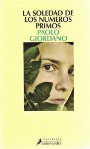La soledad de los números primos de Paolo Giordano