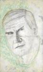 Ilustración de Milan Kundera por Matias Noel