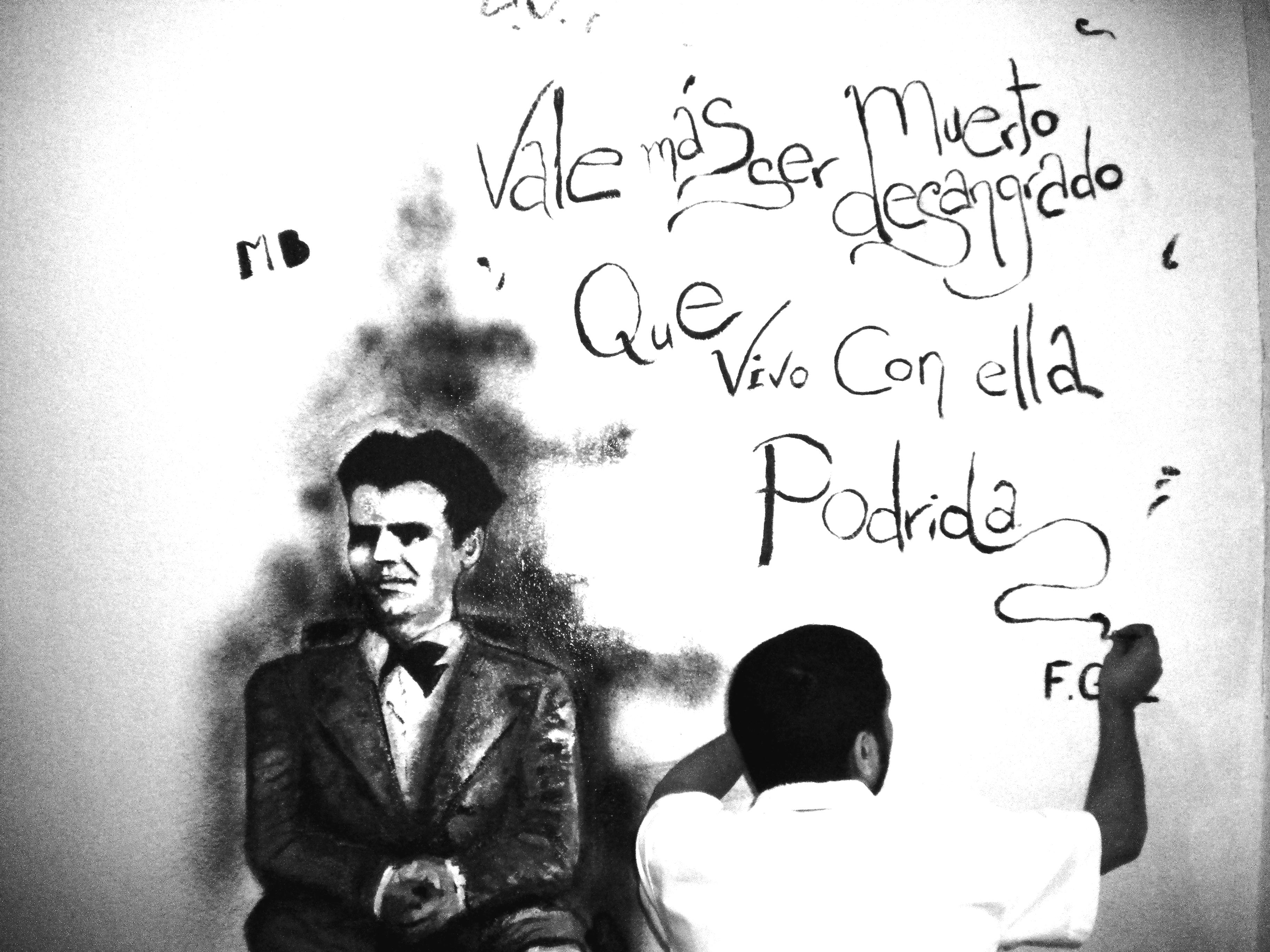 DSCN4798. Mural en honor a Federico García