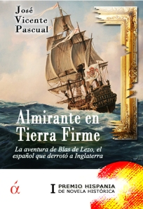 Portada de Almirante en Tierra Firme (Ed. Áltera, 2013)