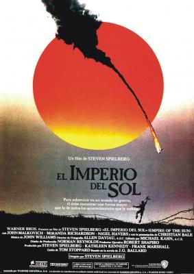 Portada de la película El imperio del sol, de Steven Spielberg