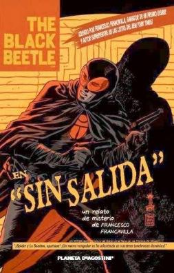 Portada de The Black Beetle Sin Salida de Planeta