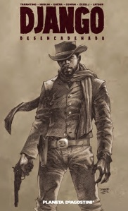 Portada de Django desencadenado
