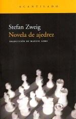 Portada de 'Novela de Ajedrez', publicada por Acantilado.