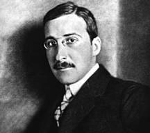 Retrato de Zweig, dominio público de la Wikipedia
