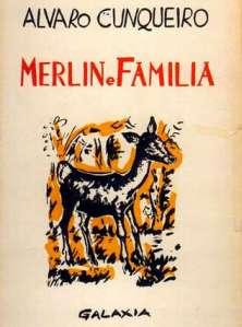 Portada de Merlín e Familia, de Álvaro Cunqueiro