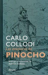 Portada de 'Las aventuras de Pinocho'