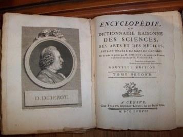 El primer volumen de la 'Encyclopédie' apareció en 1751 y contenía el famoso discurso preliminar escrito por D' Alembert .