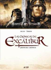 Portada-del-cómic-Crónicas-de-Excálibur.