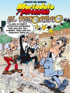 Portada de 'Mortadelo y Filemón: El Tesorero'