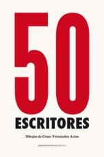 Portada de '50 escritores' (Papeles Mínimos, 2015)