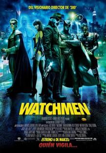 Uno de los carteles de la película de 'Watchmen'