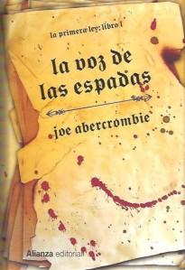 La Voz de las Espadas, de Joe Abercrombie