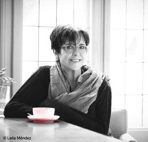 Fotografía de Maruja Torres hecha por Leila Méndez para el blog de la autora