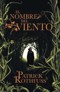 Portada de la edición española de 'El nombre del viento'