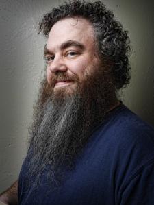 El escritor Patrick Rothfuss