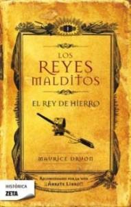 Primer tomo de la serie 'Los Reyes Malditos', de M. Druon