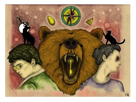 """·Novelas y sagas juveniles del siglo XXI"""". Ilustración de Francisca Aleñar"""