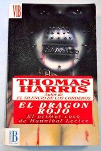 """Portada de """"El dragón rojo"""", de Thomas Harris"""