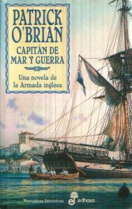 Portada de la edición española de 'Capitán de Mar y Guerra'