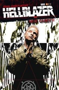 "La tapa de ""Hellblazer"", de Mike Carey"