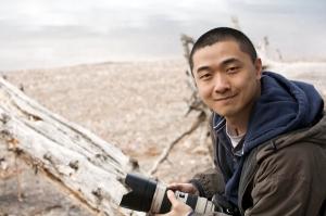 El escritor Ken Liu