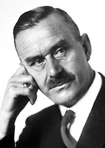 El escritor Thomas Mann